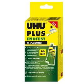 2-Komponenten-Klebstoff Plus Endfest neue Formel 163g Tube Härter+Binder UHU 45720 (SCH=163 GRAMM) Produktbild