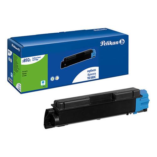 Toner Gr. 2892c (TK-580C) für FS-C5150 2800Seiten cyan Pelikan 4223029 Produktbild Front View L