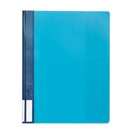 Schnellhefter Duralux A4 mit 3-teiligem Außenfenster blau Durable 2681-06 Produktbild