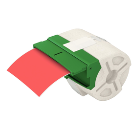 Endlosetikettenkartusche 88mmx10m Plastik rot Icon Leitz 7016-00-25 (ST=10 METER) Produktbild