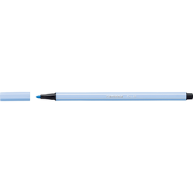 Fasermaler Pen 68 1mm Rundspitze kobaltblau hell Stabilo 68/11 Produktbild