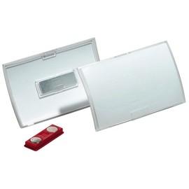 Namensschild CLICK FOLD mit Magnet 40x75mm Durable 8212-19 (PACK=10 STÜCK) Produktbild