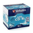 CD Rohling CD-R DataLife Plus Jewel Case 52er Speed 700MB/80Min. Verbatim 43327 (PACK=10 STÜCK) Produktbild