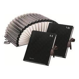Vorordner 1-31 A4 31Fächer schwarz Kunststoff Pagna 24311-04 Produktbild