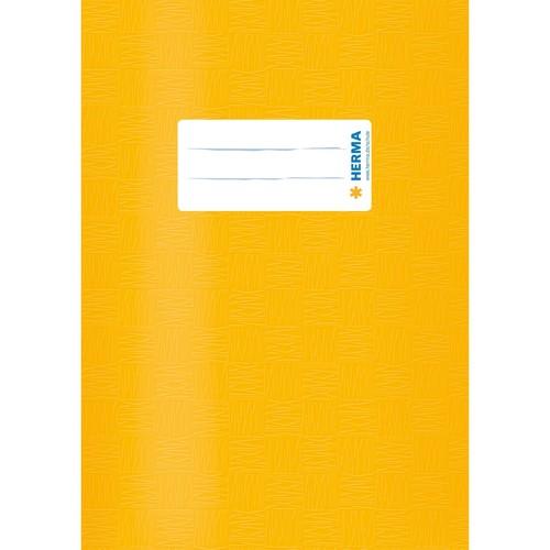 Heftumschlag A5 gelb Kunststoff Herma 7421 Produktbild