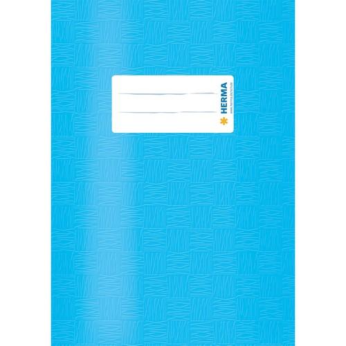 Heftumschlag A5 hellblau Kunststoff Herma 7433 Produktbild