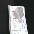 Glas-Magnetboard artverum 1200x900x15mm schwarz inkl. Magnete Sigel GL210 Produktbild Additional View 4 S