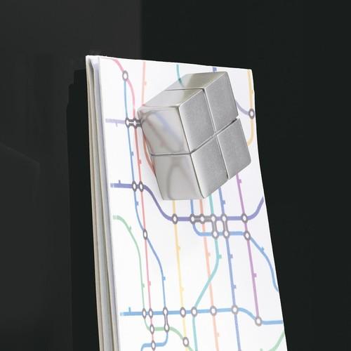 Glas-Magnetboard artverum 1200x900x15mm schwarz inkl. Magnete Sigel GL210 Produktbild Additional View 4 L