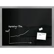 Glas-Magnetboard artverum 1200x900x15mm schwarz inkl. Magnete Sigel GL210 Produktbild
