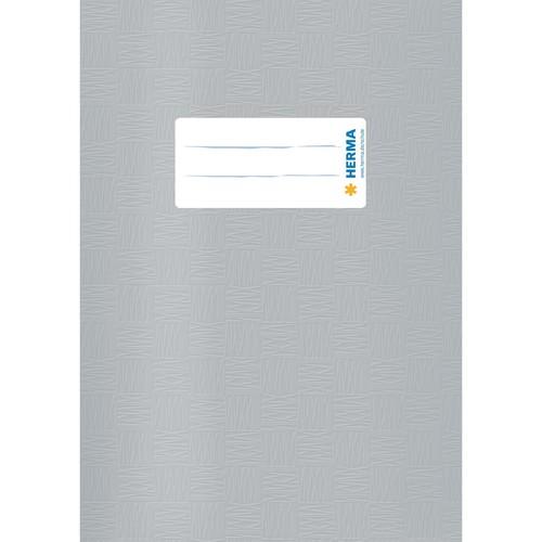 Heftumschlag A5 grau Kunststoff Herma 7428 Produktbild