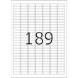 Etiketten Inkjet+Laser+Kopier 25,4x10,0mm auf A4 Bögen weiß extrem stark haftend Herma 10900 (PACK=4725 STÜCK) Produktbild Additional View 2 S