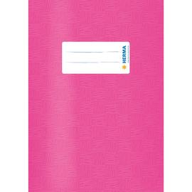 Heftumschlag A5 pink Kunststoff Herma 7432 Produktbild