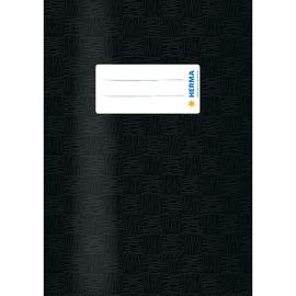 Heftumschlag A5 schwarz Kunststoff Herma 7429 Produktbild
