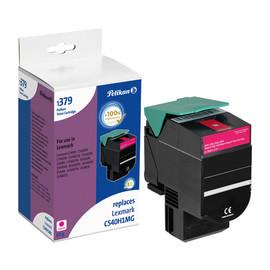 Toner für Optra C540N/C543DN 2000Seiten magenta Lexmark C540H1MG Produktbild