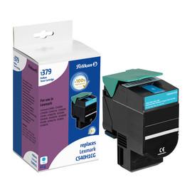 Toner für Optra C540N/C543DN 2000Seiten cyan Lexmark C540H1CG Produktbild