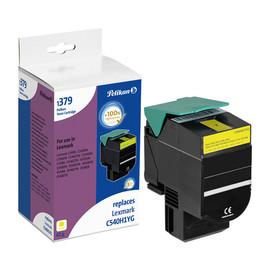 Toner für Optra C540N/C543DN 2000Seiten yellow Lexmark C540H1YG Produktbild