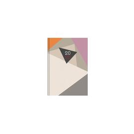 Buchkalender 2020 A5 15x21cm 1Tag/1Seite farbig sortiert wattiert Zettler 872-0001 Produktbild