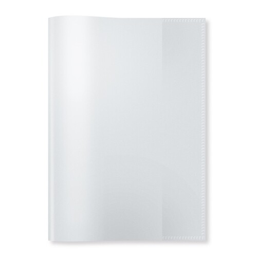 Heftumschlag A5 transparent farblos Kunststoff Herma 7480 Produktbild