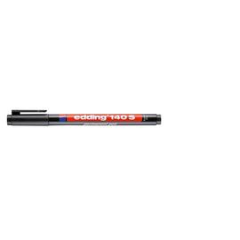 Folienstift OHPen 141F 0,6mm Rundspitze schwarz wasserfest Edding 4-141001 Produktbild