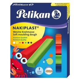 Nakiplast Wachsknete mit Bienenwachs sortiert Pelikan 622712 (PACK=7 STÜCK) Produktbild