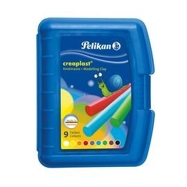 Creaplast Kinderknete in transparent- blauer Box NEU sortiert Pelikan 622415 (ST=14 STÜCK) Produktbild
