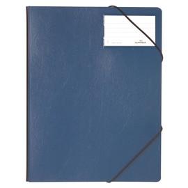 Eckspanner A4 15mm dunkelblau Hartfolie Durable 2320-07 Produktbild