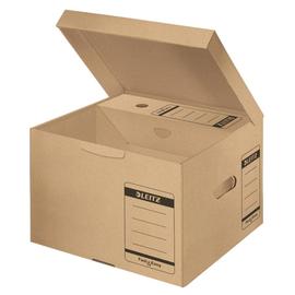 Archiv Container Fast & Easy mit Deckel Größe M 350x320x265mm naturbraun Leitz 6053-00-00 Produktbild
