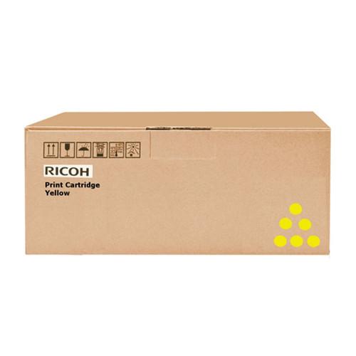 Toner für Aficio SP C252DN 6000 Seiten yellow Ricoh 407719 Produktbild Front View L