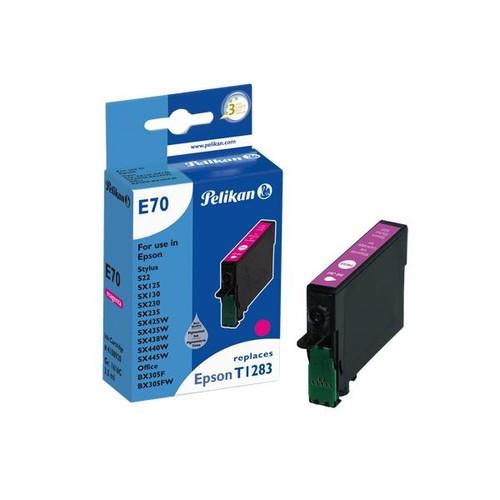 Tintenpatrone Gr. 1616C (T128340) für Stylus S22/SX445W 3,5ml magenta Pelikan 4108920 Produktbild Front View L