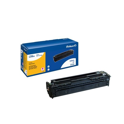 Toner Gr. 1236m (CF213A) für Color Laserjet M276/251 2500Seiten magenta Pelikan 4229526 Produktbild Front View L