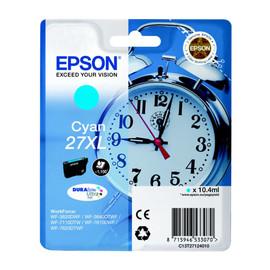 Tintenpatrone 27XL für Epson WF3620/ 7110DTW/7600 10,4ml cyan Epson T271240 Produktbild