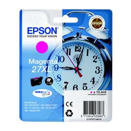Tintenpatrone 27XL für Epson WF3620/ 7110DTW/7600 10,4ml magenta Epson T271340 Produktbild