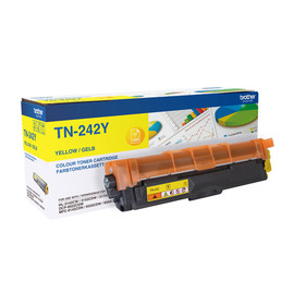 Toner für Brother HL-3152CDW/3172CDW 1400Seiten yellow Brother TN-242Y Produktbild