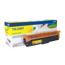 Toner für Brother HL-3152CDW/3172CDW 2200Seiten yellow Brother TN-246Y Produktbild