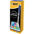 Kugelschreiber Cristal Stylus mit Touchpen-Funktion 0,4mm mittel blau Bic 926388 Produktbild Additional View 3 S