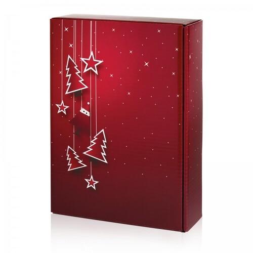 Geschenkverpackung Santa bordeaux Für 3 Flaschen Famulus 130168 Produktbild Front View L