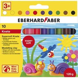 Plastilin Knetmasse Mini Kids Club Supersoft in Kartonetui sortiert Eberhard Faber 572110 (PACK=10 STÜCK) Produktbild
