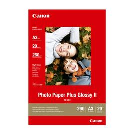 Fotopapier Inkjet PP-201 A3 260g weiß Canon 2311B020 (PACK=20 BLATT) Produktbild