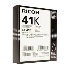 Gel Patrone GC-41K für Ricoh SG 3100/ 7100 schwarz Ricoh 2500Seiten 405761 Produktbild
