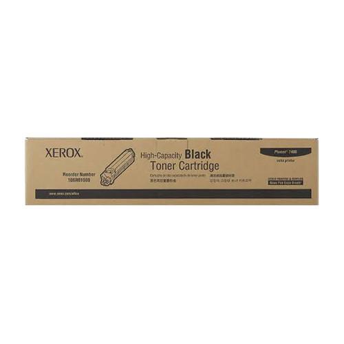 Toner für Phaser 7400 15000Seiten schwarz Xerox 106R01080 Produktbild Front View L