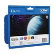 Tintenpatrone Multipack für Brother DCP135C/MFC260C 1x350Seiten/3x300Seiten schwarz/farbig Brother LC970VALBP (ST=4 STÜCK) Produktbild