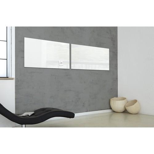 Glas-Magnetboard artverum 1300x550x15mm super-weiß inkl. Magnete Sigel GL241 Produktbild Additional View 7 L