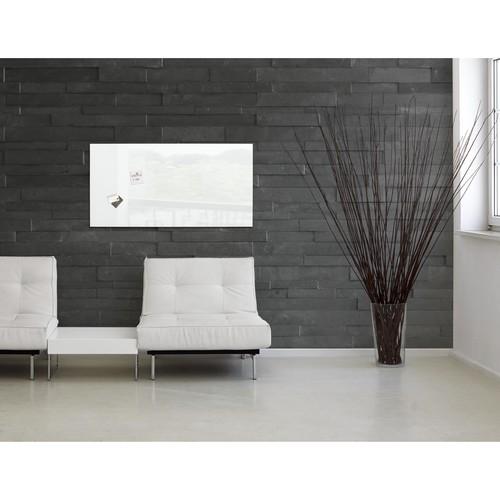 Glas-Magnetboard artverum 1300x550x15mm super-weiß inkl. Magnete Sigel GL241 Produktbild Additional View 8 L