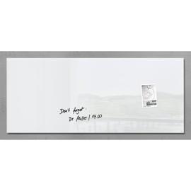 Glas-Magnetboard artverum 1300x550x15mm super-weiß inkl. Magnete Sigel GL241 Produktbild