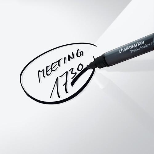 Glas-Magnetboard artverum 1300x550x15mm super-weiß inkl. Magnete Sigel GL241 Produktbild Additional View 5 L