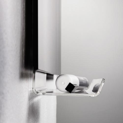 Stifteschale artverum 500x75x90mm glasklar Acryl klebbar Sigel GL198 Produktbild Additional View 1 L