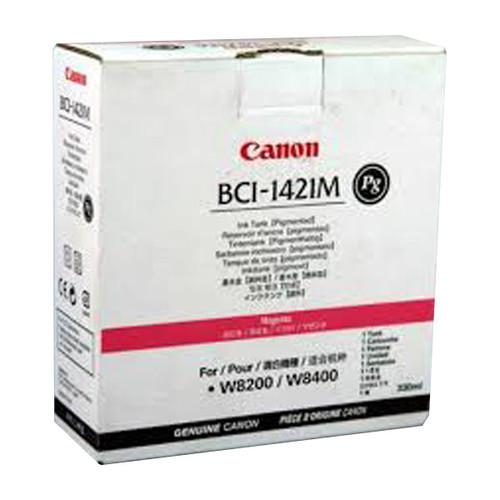 Tintenpatrone BCI-1421M für Canon 8200P/8400P 330ml magenta pigmentiert Canon 8369a001 Produktbild Front View L