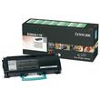 Toner für Optra E260/360/460 3500Seiten schwarz Lexmark E260A11E Produktbild