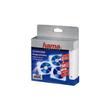 CD Doppel-Hülle 14,3x12,8cm für 2 CDs transparent Hama 00084101 (PACK=50 STÜCK) Produktbild