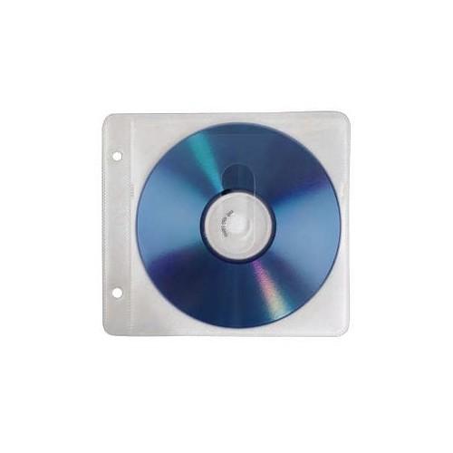 CD Doppel-Hülle 14,3x12,8cm für 2 CDs transparent Hama 00084101 (PACK=50 STÜCK) Produktbild Additional View 1 L